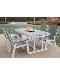 Edison Table L Amazing Deal On Walker Edison Coastal Outdoor 5 Dining Set