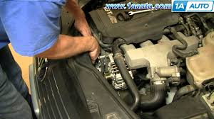how to install replace alternator power steering engine belt