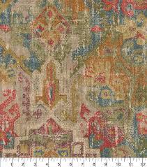 Waverly Upholstery Fabric Waverly Upholstery Fabric 54 U0027 U0027 Masala Pradesh Palace Joann