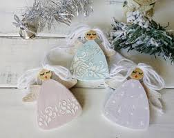 Christmas Angel Decorations Nz by Angel Christmas Etsy