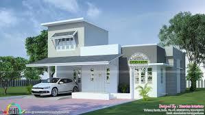 1600 sq ft modern single floor kerala home design and floor plans