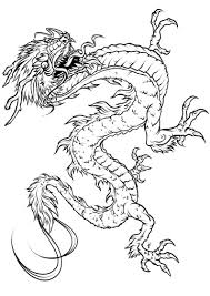 holiday coloring pages chinese dragon coloring page free