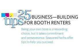 25 business building tips for booth renters business nails