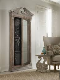 Distressed Jewelry Armoire Decorating The 45 Inch Wall Mount Jewelry Armoire For Pretty Home