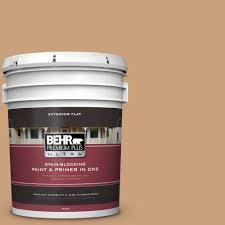 behr marquee 5 gal icc 41 butter cookie flat exterior paint