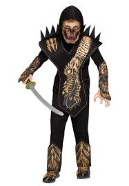 Ninja Halloween Costume Kids Boy U0027s Dragon Skull Ninja Costume Kids Costumes