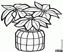 poinsettia coloring pages christmas decoration coloring pages printable games 2