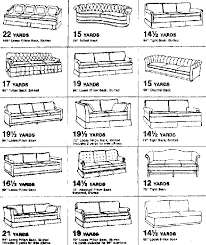 How To Upholster A Sofa by Upholstery Charts Little Green Notebook