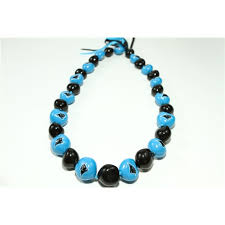 kukui nut carolina panthers real fans go nuts kukui nut 32 nut necklace