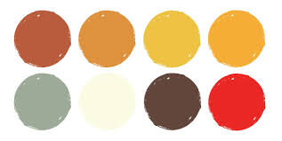 1950s color scheme 5 free color palettes for fall 123rf