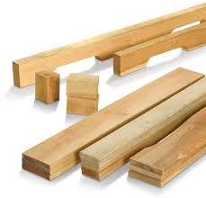 planche de bouleau matériel pré coupé pour assemblage de palette planches longerons