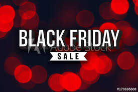 black friday deals on christmas lights special black friday sale text over red duotone christmas lights