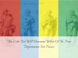 color test this color test will determine which of the four temperaments you