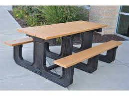 Park Bench And Table Frog Furnishings Outdoor Patio Benches U0026 Picnic Tables