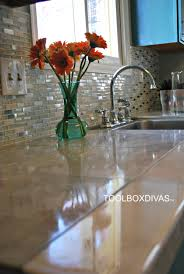 Tiling A Countertop Marble Countertop Hack How To Tile Over Laminate Countertops