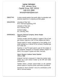 a exle of a resume exle of senior scientist resume http exleresumecv org