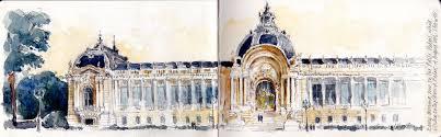 drawing perspectives more paris landmarks