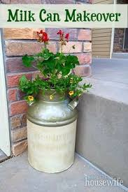 Old Milk Can Decorating Ideas Turn That Rusty Old Milk Jug Into Your Newest Decoration Learn