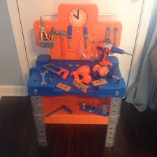 Kids Tool Bench Home Depot Find More Toy Workbench Home Depot Tools 47 Pieces Reduced