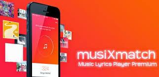 musicxmatch apk musixmatch lyrics player apk android apps