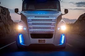 nevada officially sanctions freightliner autonomous class 8 truck