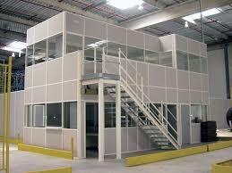 entrepot bureau plateformes industrielles et mezzanines de stockage diplex