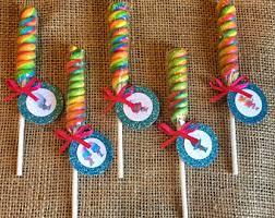 lollipop party favors trolls birthday party favors lollipop twist trolls birthday