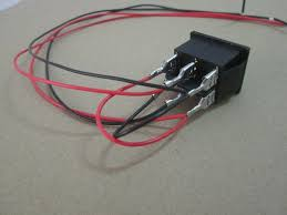 6 pin dpdt on off on 3 position boat rocker switch with wire