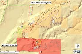 Mesa Verde Map Biking Mesa Verde Country Colorado