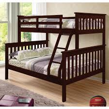 Dorel Living Brady Twin Over Full Bunk Bed Hayneedle - Full sized bunk beds