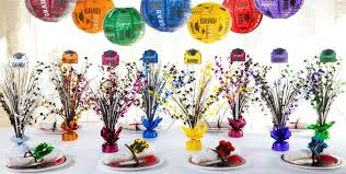 centerpieces for party tables cool idea centerpieces for graduation party table ideas