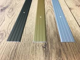 White Laminate Floor Beading Threshold Trim Flooring Ebay