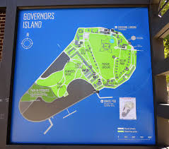 Map Of New York Manhattan And Long Island by Big Apple Secrets Governors Island The Car Free Oasis In Upper