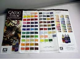vallejo na 0003 game color colour chart