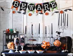 halloween tablecloths halloween kitchen decor
