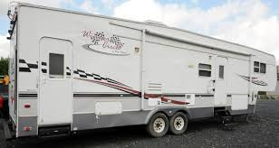 four winds winners circle 40 u0027 tandem axle 5th wheel rv trailer