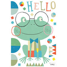 stickers les jolis pas beaux wall stickers hello frog lilipinso jeujouet co uk