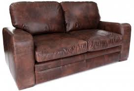 Seater Sofas Leather Sofas Old Boot Sofas - Leather 3 seat sofa