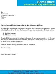 cover letter example proposal template inside 17 astounding sample