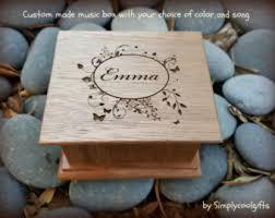 Engravable Music Box Custom Music Box