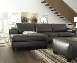 Laf Sofa Sectional Signature Design By Nokomis Charcoal Laf Sectional