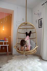 chair swings bedroom hanging out in style the best hanging chairs apartment therapy