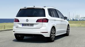volkswagen minivan 2016 2016 volkswagen golf sportsvan r line rear hd wallpaper 2