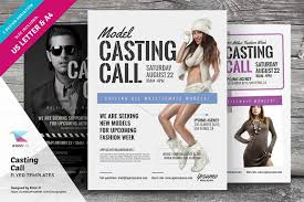 casting call flyer templates flyer templates creative market