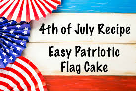 mommycon 4th of july dessert recipe easy patriotic flag cake