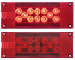 led tail lights for a trailer optronics led tail light b s trailer