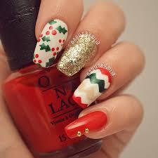 20 beautiful christmas nail art designs be modish