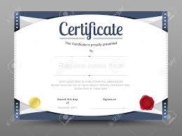 business certificate templates work certificate template design