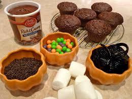 beurrista spiderrific cupcakes