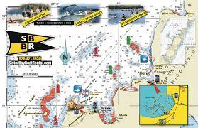 Map Of Door County Wisconsin by Sister Bay Boat U0026 Jet Ski Rentals Door County Boat Rentals